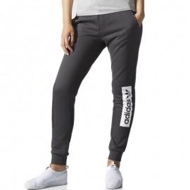 Pantalon Gris Femme Adidas