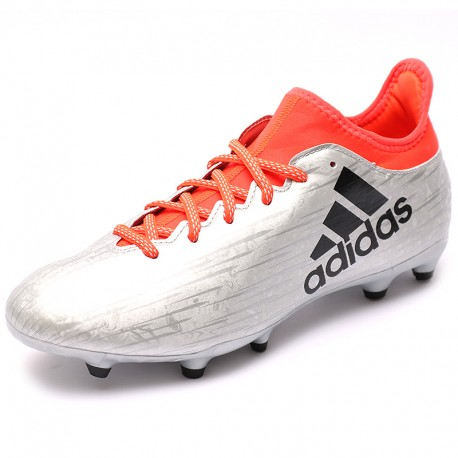Chaussures X 16.3 Fg Gris Football Homme Adidas SrioY1