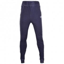 Pantalon en coton Marine Garçon Adidas