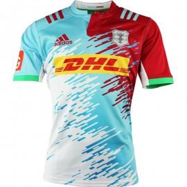 Maillot Harlequins Rugby Bleu Garçon Adidas