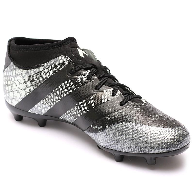 Chaussures Ace 16.3 Primemesh FGAG Noir Football Homme Adidas