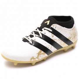 Chaussures Ace 16.3 Primemesh FG/AG Blanc Football Homme Adidas