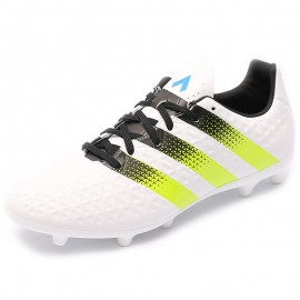Chaussures Ace 16.3 FG/AG Blanc Football Homme Adidas