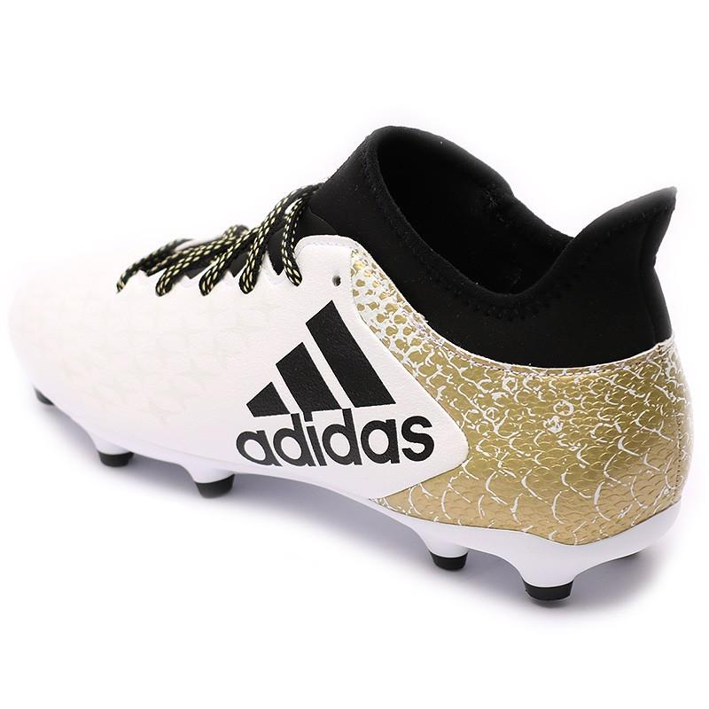 3 Fg Homme Chaussures Football X Blanc Adidas 16 ZPkiTXOlwu