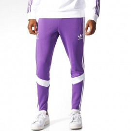 Pantalon Real Madrid Track Football Violet Homme Adidas