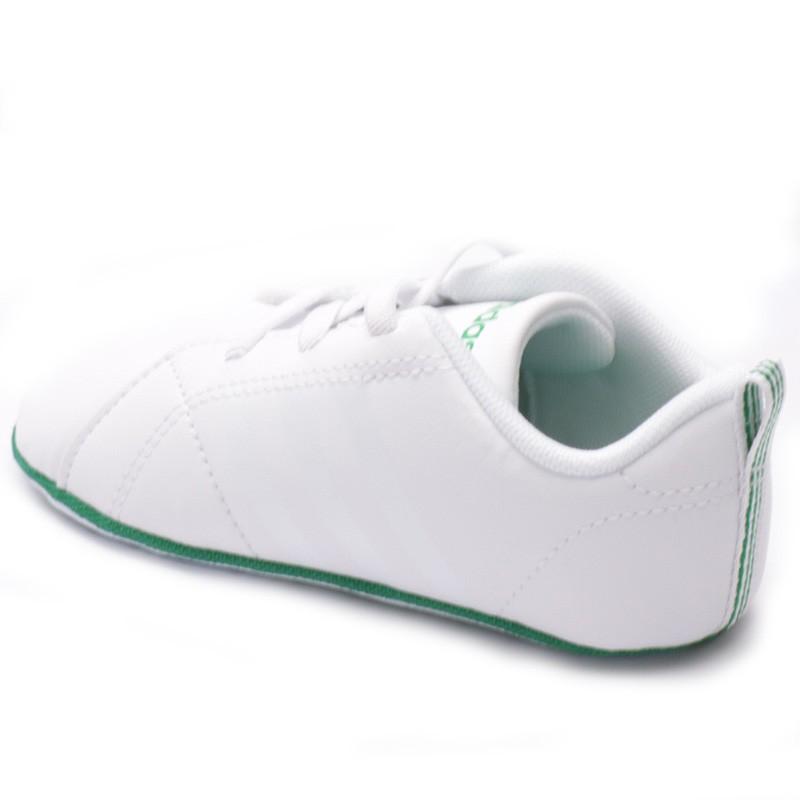 Chaussures VS Advantage Crib Blanc Bébé Garçon Adidas