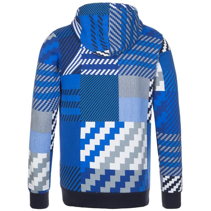 sweat capuche zipp bleu homme adidas. Black Bedroom Furniture Sets. Home Design Ideas