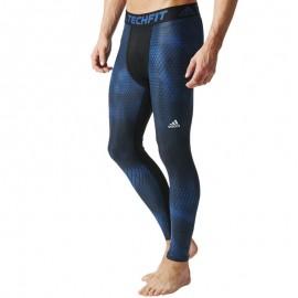 Collant de compression Entrainement Bleu Homme Adidas