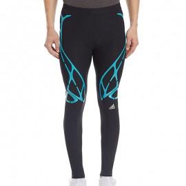 Collant de compression Adizero Sprintweb Running Noir Homme Adidas