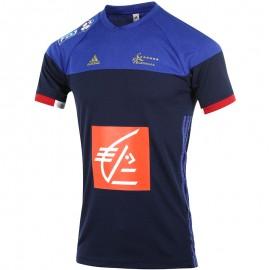Maillot FFHB  Handball Bleu Homme Adidas