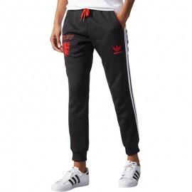 Pantalon Manchester United Track Noir Homme Adidas