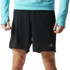 Short Response dual Running Noir Homme Adidas