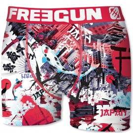 Boxer Japon Rose Homme Freegun