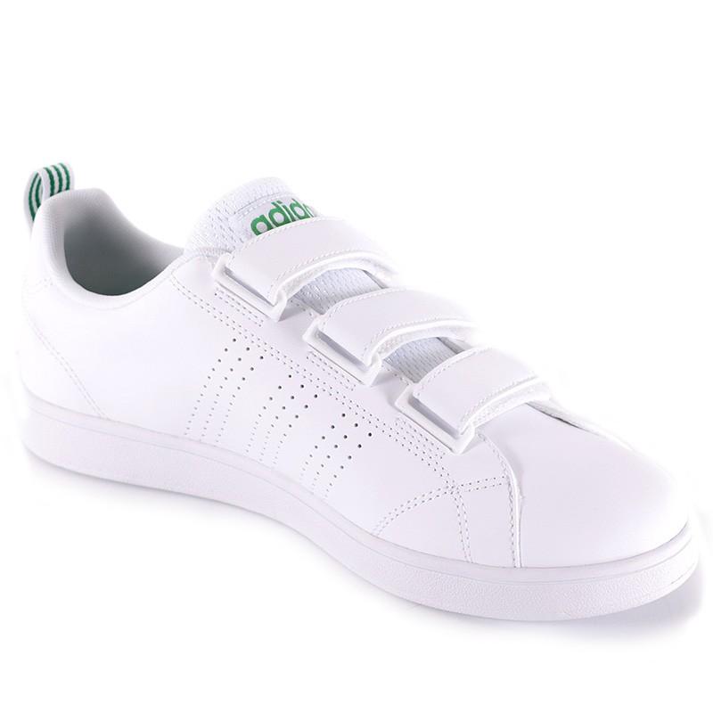 chaussures vs advantage clean cloudfoam blanc homme adidas. Black Bedroom Furniture Sets. Home Design Ideas