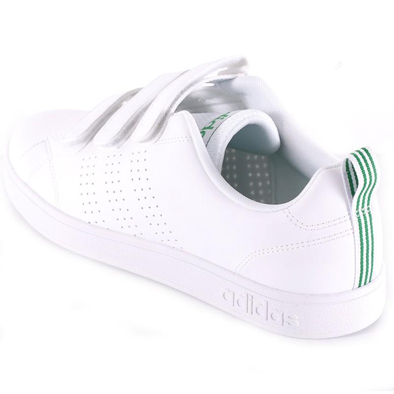Chaussures VS Advantage Clean Cloudfoam Blanc Homme Adidas