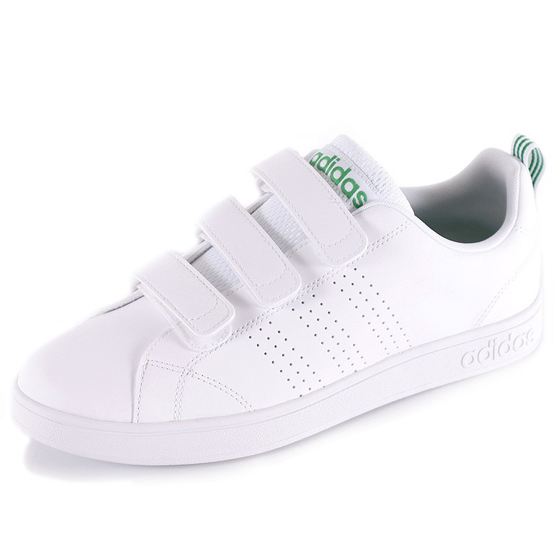 Chaussures VS Advantage Clean Cloudfoam Blanc Homme Adidas