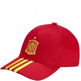 Casquette Espagne Football Rouge Homme Adidas