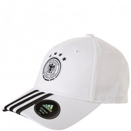 Casquette Allemagne Football Blanc Homme Adidas