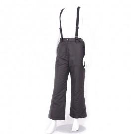 Pantalon Ski Garçon/Fille Noir Longboard