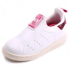 Chaussures Stan Smith Blanc Bébé Fille Adidas