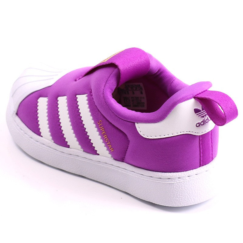 7b2622e0eb3 Adidas Bébé 360 qavFA Fille Superstar Vv12zckdc Violet Chaussures 1wqOOU