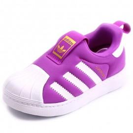 Chaussures Superstar 360 Violet Bébé Fille Adidas