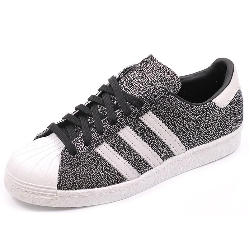 les ventes chaudes 98a49 c424e Chaussures Superstar 80'S Noir Homme Adidas