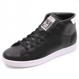 Chaussures Stan Smith Mid Montantes Noir Garçon/ Homme Adidas