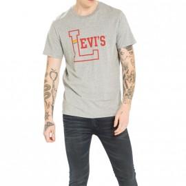 Tee-shirt Graphic set Gris Homme Levi's