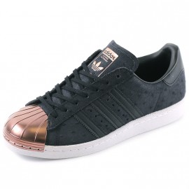 Chaussures Superstar 80'S  Métal Noir Femme Adidas