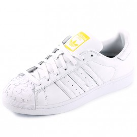 Chaussures Superstar Pharrell Williams Blanc Homme Adidas
