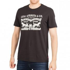 Tee-shirt Graphic set Noir Homme Levi's