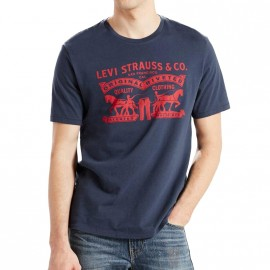 Tee-shirt Graphic set Marine Homme Levi's