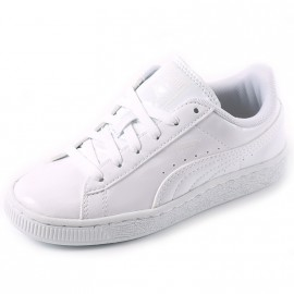 Chaussures Classic Patent Blanc Fille Puma