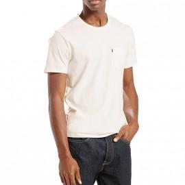 Tee-shirt Sunset Pocket Blanc Homme Levi's