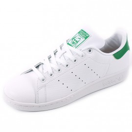 Chaussures Stan Smith Blanc Vert Homme Adidas