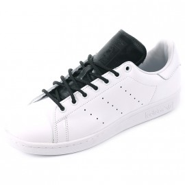 Chaussures Stan Smith Blanc Noir Homme Adidas