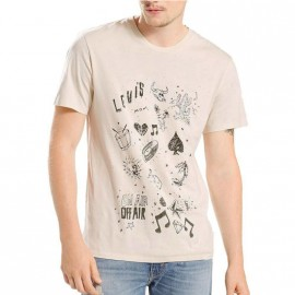 Tee-shirt Graphic set Beige Homme Levi's