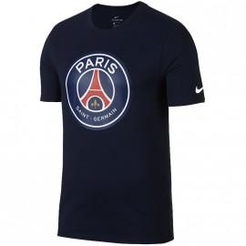 Tee shirt Crest PSG Football Marine Homme Nike