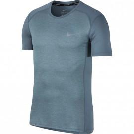 Tee-shirt Running Gris Homme Nike