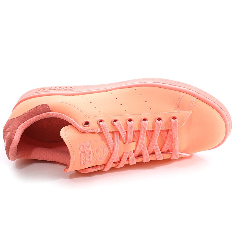 Chaussures Stan Smith Adicolor saumon Homme Femme Adidas