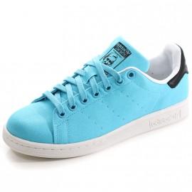 Chaussures Stan Smith Bleu Homme Femme Garçon Fille Adidas
