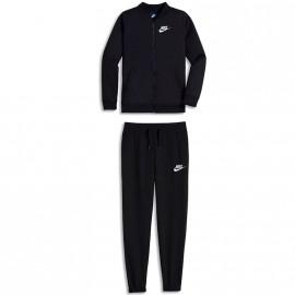 Survêtement Suit Tricot Noir Fille Nike