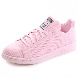 Chaussures Stan Smith Primeknit Rose Fille Adidas