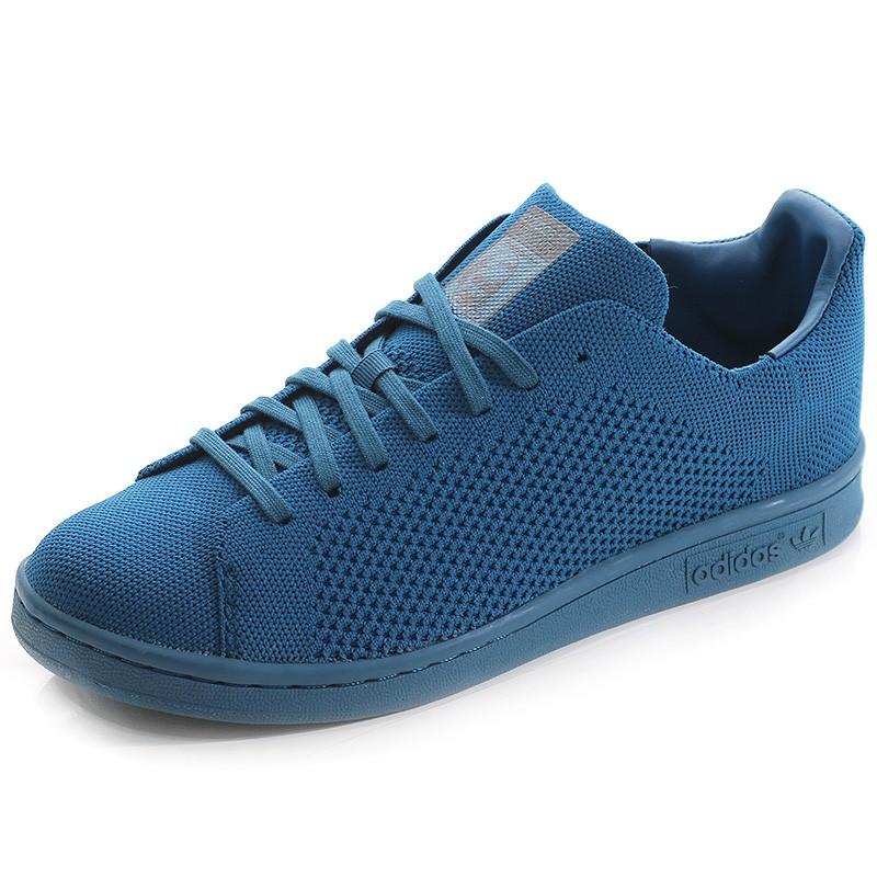 bbc121f5146ad Chaussures Stan Smith Primeknit Bleu Garçon Adidas