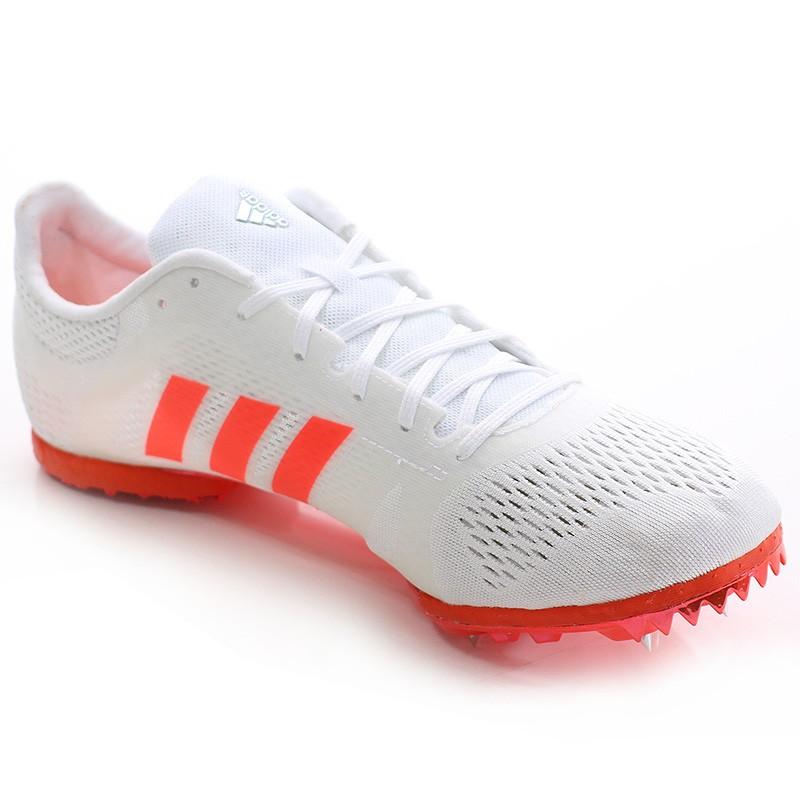 Middle Rouge Homme Femme Adizéro Adidas Blanc Athlétisme Chaussures KcT3lFJ1