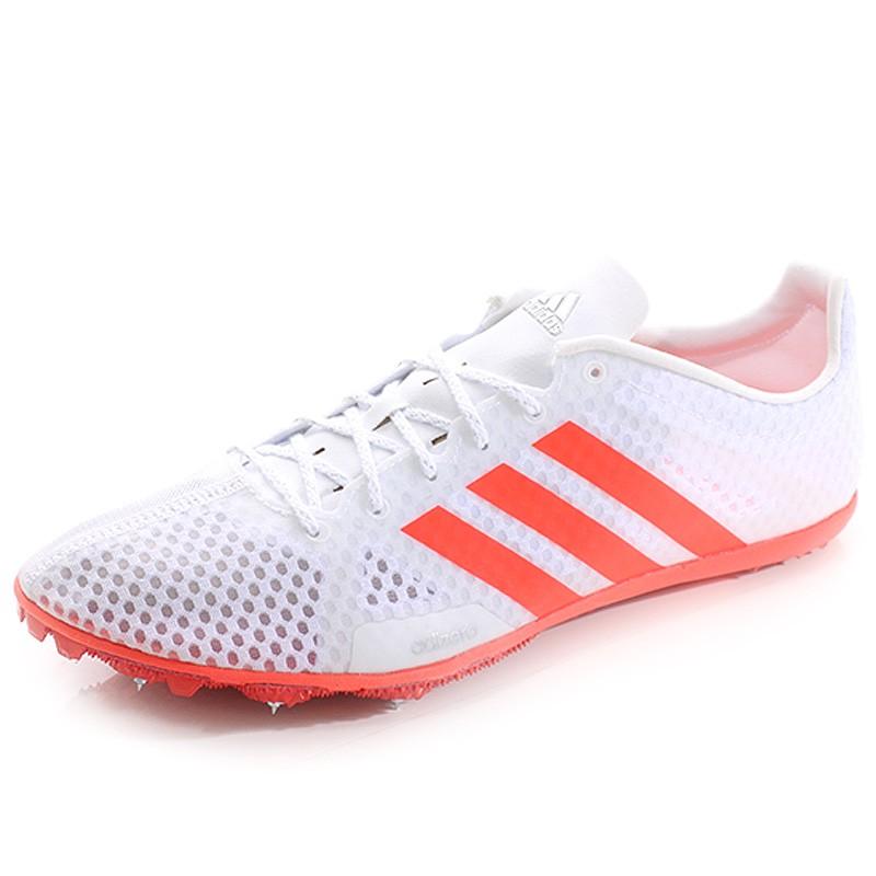 af918a3d4ff Athlétisme Homme Adidas Rouge Blanc Adizero Ambition Chaussures wqOpTgx