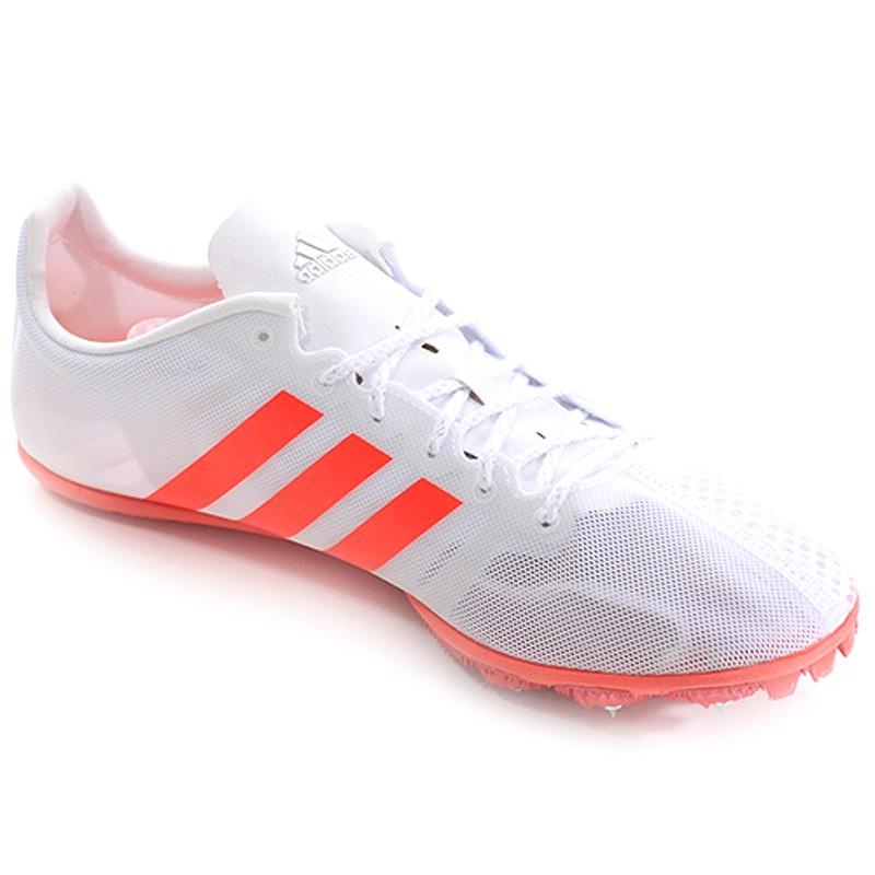 Chaussures Adizero Ambition Blanc Rouge Athlétisme Homme Adidas