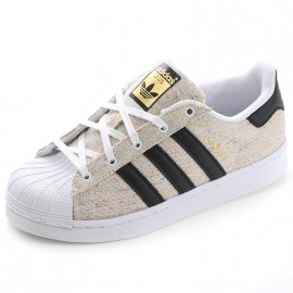 Chaussures Superstar C Blanc Garçon Fille Adidas