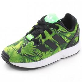 Chaussures ZX Flux EL Vert Garçon Adidas